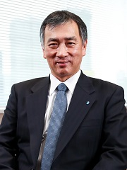 >photo:Kohei Morikawa, President and CEO